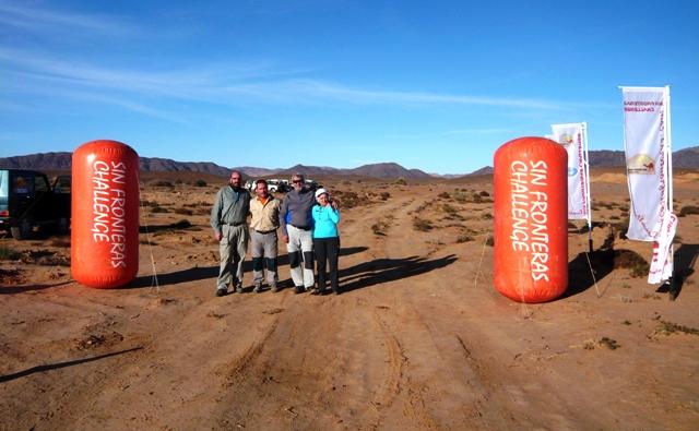 En la meta de la Etapa 3 con Jorge y Rafa de CSEstudio